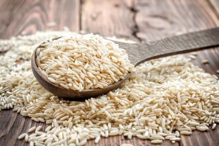 Rijst Stockfoto