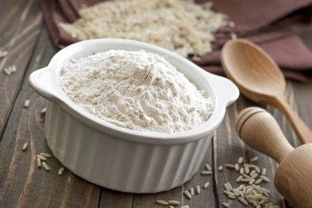 Rice flour Stock Photo - 25598576