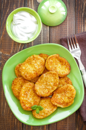 fritters: Fritters Stock Photo