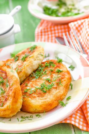 croquettes: Potato zrazy
