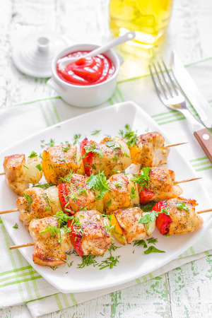 kabob: Kebab Stock Photo