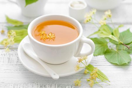 stimulated: Linden tea