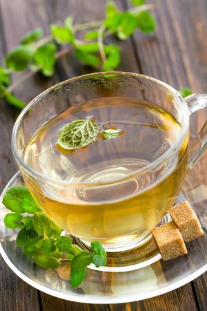 stimulated: Mint tea