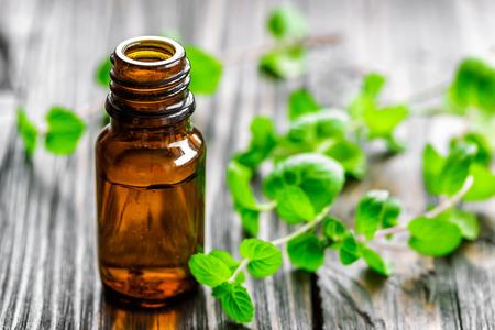homeopatia: Aceite de menta