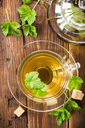 Blackcurrant tea photo