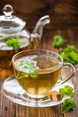 stimulated: Blackcurrant tea Stock Photo
