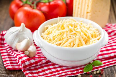 queso rallado: Queso rallado