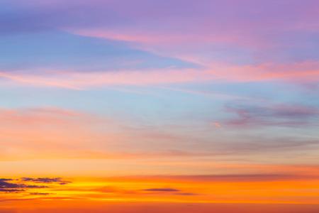 purple sunset: colorful Sky Stock Photo