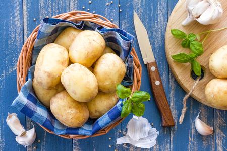 tuber: Potatoes