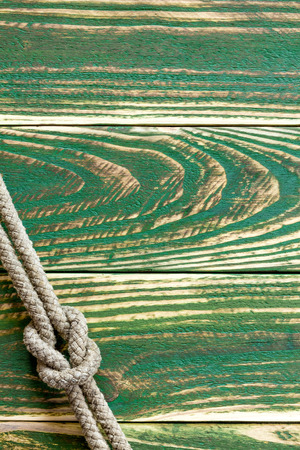 knotted: Marine rope knotted