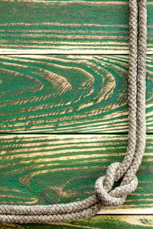 natural rope: Marine rope knotted