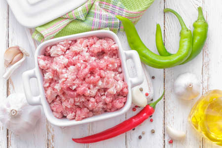 ground beef: Minced meat