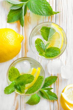 soda water: Lemon drink