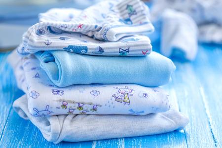 Les vêtements de bébé Banque d'images