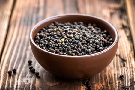black pepper: Black pepper