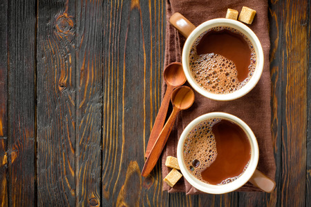 Hot cocoa drink photo