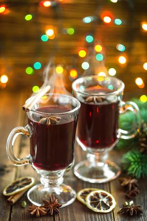 Christmas mulled wine photo