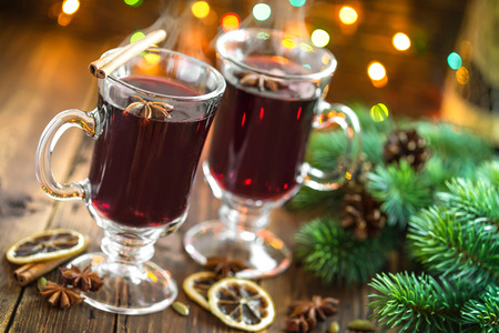 hot drink: Christmas mulled wine