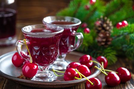 Cherry wine photo