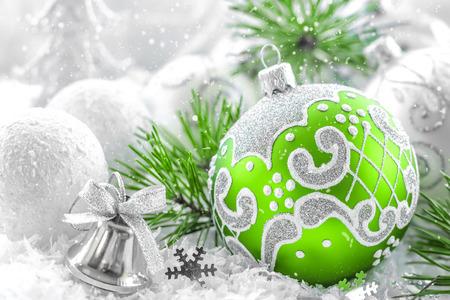 クリスマスの飾り 写真素材