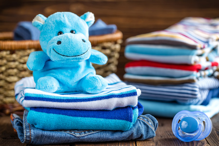 Vêtements de bébé Banque d'images