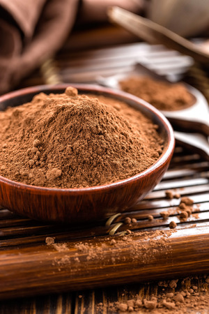 rich flavor: Cocoa powder