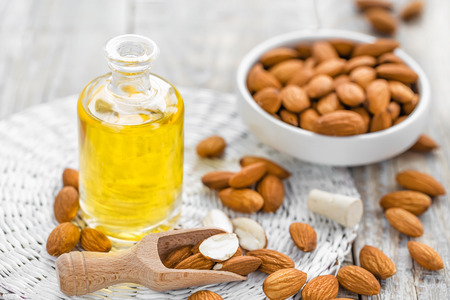oil massage: Almond oil