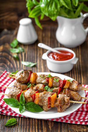 kebab: Kebab Stock Photo