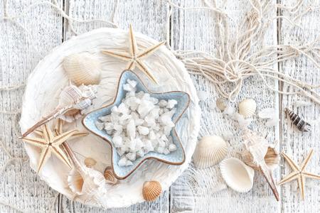 Sea salt Фото со стока