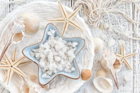 海の塩 写真素材