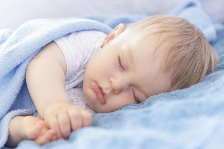 Baby slaapt
