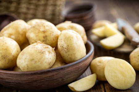aardappel Stockfoto