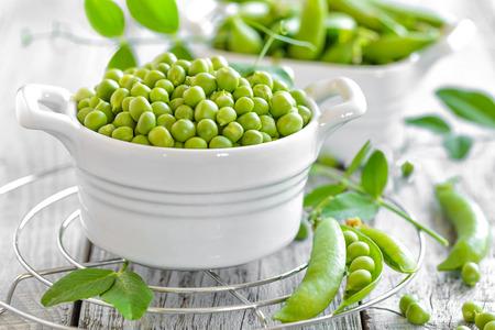green peas Foto de archivo