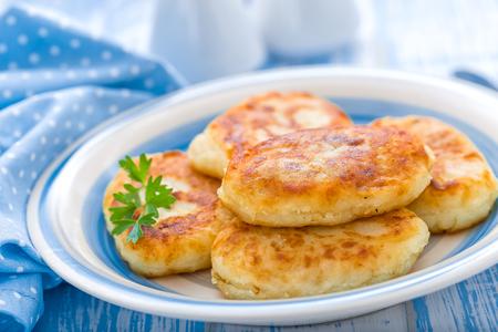potato cakes Banco de Imagens - 45625527