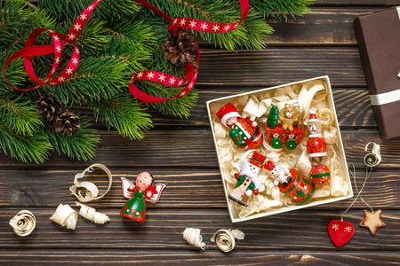 table decoration: christmas decoration
