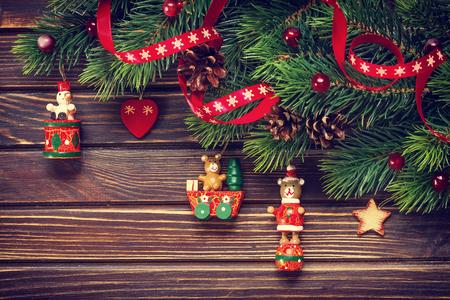 abeto: decoración de navidad Foto de archivo