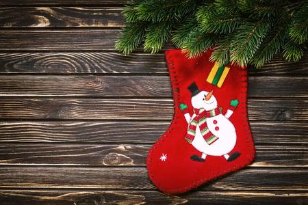 christmas sock: christmas decoration