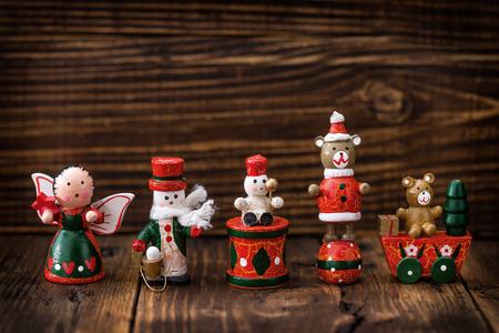 juguete: decoraciones de Navidad Foto de archivo