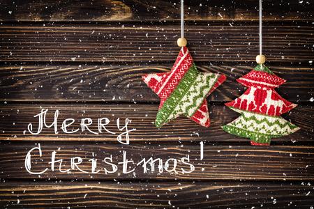 motivos navideños: decoraciones de Navidad Foto de archivo