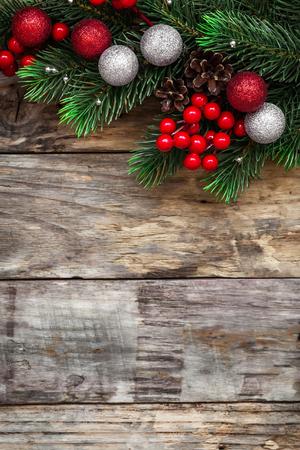navidad elegante: decoraciones de Navidad Foto de archivo