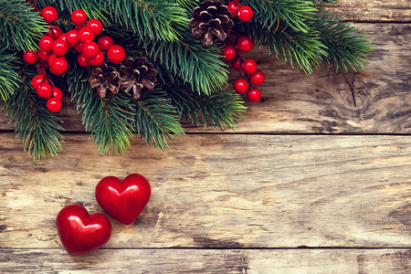 love hearts: valentine card