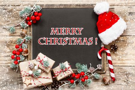 navidad elegante: tarjeta de Navidad