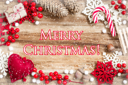 text space: christmas background