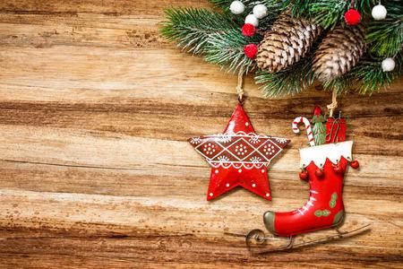 fir tree: christmas background