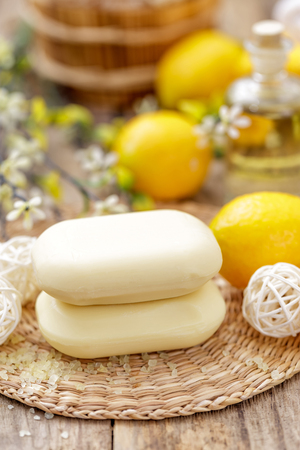 lemony: lemon soaps