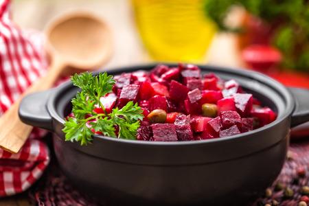 beet: beet salad