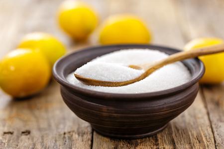 Acide citrique Banque d'images - 50435806