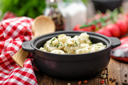 marinated: marinated mushrooms