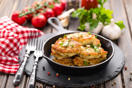 meat sauce: cutlets Stock Photo