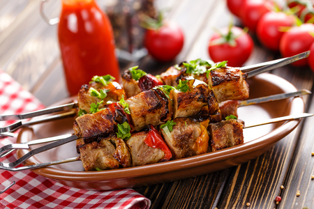 chop stick: kebab